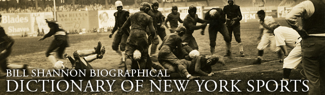 New-York Historical Society's Bill Shannon Dictionary of New York Sports